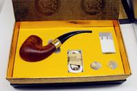 e pipe vape mod achat en gros de-100% bois Cigarette électronique ePipe 628 Kit Ewinvape E pipe 628 pipe fumer avec 0.5ohm sous bobine énorme vape mieux que 618 pipe en bois mod