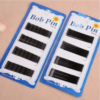 Wholesale 60pcs card black hair clip professional make up hair maker accessory bobby pins Hairpin Barrette Hair Jewelry Accessories