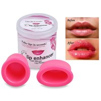 Wholesale silicone lips - Soft Silicone Lips Enhancer Plumper Tool Device full lip makes Your Lip More Sexy 2 Size in 1