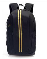 name brand backpack großhandel-Neue europäische Designer ADIDAS Rucksäcke Mode Marke Reisetasche Schule Rucksäcke große Kapazität Tote Schulter Markennamen Taschen