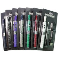 Wholesale Vapor White - Top quality Snoop Dogg Herbal Vaporizer Starter Kit e cigs Electronic Cigarettes Dry Herb 650mah battery Vape Pen Blister Package Kits Vapor