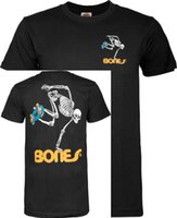 ingrosso pre stampa-T-shirt scheletro Uomo Pre - Abbigliamento in cotone 100% cotone T Shirt di design uomo nuovo Stampa New 2018 Tops base moda
