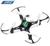 drone h8 mini venda por atacado-Jjrc h8 mini drone modo headless drones 6 eixos giroscópio quadrocopter 2.4 ghz 4ch drone um retorno chave rc helicóptero vs cx10w jjrc h20