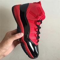 ingrosso nero 11s-nuovo idro XI 11 nero rosso qualità normale Scarpe da pallacanestro Designer uomo donna Scarpe da ginnastica 11s scarpe casual moda con doppia scatola