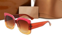 Wholesale wholesale fahion - 0083 Brand Designer 0083S Square Summer Style Women Sunglasses Ladies Full Frame Sunglasses UV Protection Fahion Mixed Color