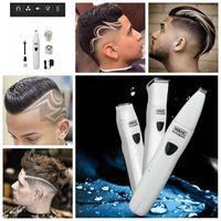 Wholesale Hairdresser Razors - WAHL Multifunction Electric Shaver Shaving Beard Trimmer Razor Hair Clipper Body Hair Groomer Hairdresser Engraver 3 Kinds of Blades