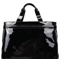 красная сумочка из лакированной кожи оптовых-большие дизайнер роскошные сумки кошельки женщин элегантные сумки на ремне сумки лакированной кожи красный синий кожа тотализатор