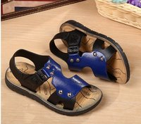 Wholesale sandals heels fabric flowered for sale - Boys sandals foreign trade children s beach shoes big children in the children s children s summer Korean version of the boys shoes bab