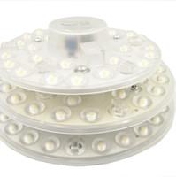 panel circular led 12w al por mayor-12 W 18 W 24 W AC 220 V blanco LED lente redonda del techo redondo llevó el anillo del círculo del círculo luces módulo de sensor de movimiento lámpara Junta Circular
