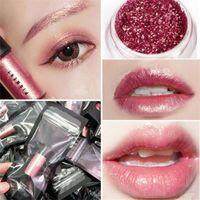 Wholesale loose makeup eye glitter - M Makeup 2 Colors Eyeshadow Loose Powder Mineral Texture Eye shadow Shimmer Metallic Glow Glitter Powder Palette Makeup