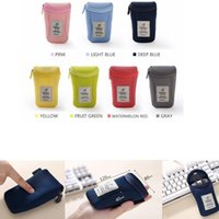 Wholesale cable storage for sale - Group buy Mouse Storage Bag Portable Shockproof Digital Protective Case Pouch Devices USB Cable Earphone Pen Travel Cosmetic bag GGA620