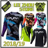 se bisikletler toptan satış-2018 Sete camiseta ropa motocross forması yokuş aşağı mtb Manga Longa camisa mx Moto Jersey dağ bisikleti dh motocicleta roupas