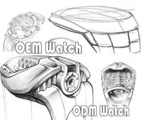Wholesale moon watch chronograph - OEM ODM YUPOO ALBUM Order Mens Womens Automatic Watch Phase Moon Chronograph Super Power reserve Tourbillon Miyota ETA CAL 2824 2836 7750