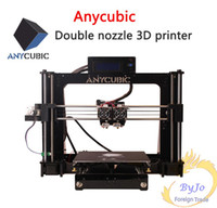 Wholesale 3d printer nozzle for sale - Group buy Anycubic d printers Chinese English interface DIY learning suite reference prusa i3 double nozzle Double color printing