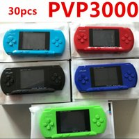 leitor de jogos de vídeo portátil venda por atacado-Jogador do jogo PVP 3000 (8 Bits) 2.5 Polegada LCD Handheld Consoles de videogame Player Mini Caixa de Jogo Portátil Também tem PXP3