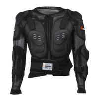 motosiklet yarış vücudu koruyucusu toptan satış-Profesyonel Motosiklet Ceket Vücut Koruyucu Motocross Yarışı Tam Vücut Zırh Omurga Göğüs Koruyucu Dişli Motosiklet Koruma Spor için