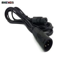 cabo de luz de 3 m venda por atacado-Transporte rápido 3 m DMX Cabos de três núcleos cabo LED Par Light Moving Head Light dmx iluminação de palco