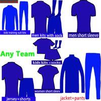 jerseys de fútbol de equipo para al por mayor-2018 2019 Nuevas camisetas de fútbol 17 18 19 club maillot de foot enlace de pedido para cualquier equipo Camiseta de futbol top Camisetas de fútbol de calidad thialand