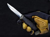 Wholesale Super 55 - Super sharp German guardian survival camping knife 12CR27 straight knife Outdoor Tools OEM 1pcs sample freeshipping