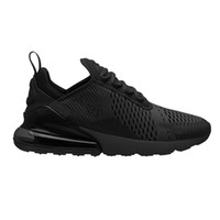 Wholesale hot pink boots for women - 2018 New Mens 270 Running Shoes For Men women Hot Punch Oreo Triple s Black Teal Designer Sports Sneakers US 5.5-11