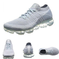 Wholesale pink light blue - SALE 2018 New Vapormax Rainbow BE TRUE Gold Black Pink Women Men Designer Running Shoes Sneakers