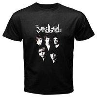 dessins de cou de bande achat en gros de-New Summer Style T-shirt Noir Taille S - 3xl Design O - Cou Court - Manches courtes T-shirt Noir