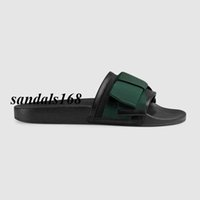 Wholesale dot flip flop - new arrival fashion Summer slippers men and women Satin slide FLATS sandals with Web bow slippers