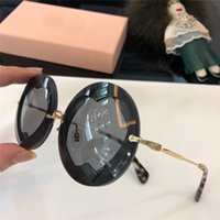 Wholesale new eyewear shape for sale - Group buy New fashion designer sunglasses S round frame heart shaped lens popular avant garde summer style top quality uv400 protection eyewear