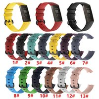 Wholesale Silicone Watch Band Strap for Fitbit Charge Fitness Activity Tracker Smartwatch Replacement Sports Wrist Band Strap