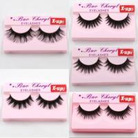 Wholesale fake hands online - Hot X up D Strip Mink Lashes Natural Thick Handmade False Fake Eyelashes Eye Lashes Makeup Extension