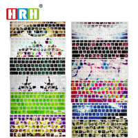 Wholesale macbook air skin decal for sale - Group buy HRH Waterproof Slim Fashion Decal Silicone English Keyboard Cover Keypad Skin Protector For Mac book Pro quot quot quot Air Retina
