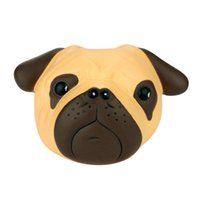 encantos bonitos para cães venda por atacado-Kawaii bonito Squishy Squishy Suave Divertido Louco Cão Perfumado Squishy Charme Lento Rising 8 Cm Simulação Kid Descompressão Brinquedo