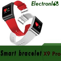 Wholesale x9 phone online – custom 20X smart wristband X9 pro with Passometer Blood Pressure bluetooth sport bracelet for android ios phones