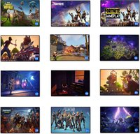 Wholesale movie canvas art - Fortnite Battle Royale Game Poster Wall Painting Posters And Prints Canvas Art Wall Pictures Game Poster DDA602 Wall Stickers