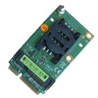 mini tarjetas express al por mayor-Mini PCIe Extender Conector de tarjeta SIM para módem 3G / 4G y interfaz Mini-PCIe, tarjeta de extensión para obtener la ranura SIM en la placa madre
