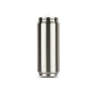Wholesale Vacuum Water Flask - 2018 Creative can Thermos Cup stainless steel 500ml Vacuum water bottle Flask home outdoor portable vaccum cups