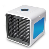 Wholesale usb portable device - USB Mini Air Conditioner Portable Air Cooler Fan Summer Personal Space desk fans Cooler Device cool wind for home office