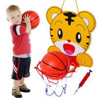 levantamiento de pie al por mayor-La Explosión Aprendizaje Juguetes Educativos Niños Divertidos Colgando Levantando Baloncesto Soportes Animales de Dibujos Animados Forma Juguetes Inteligentes 4 5yy W