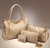 Wholesale sale big designer handbags for sale - Group buy Sales new fashion Europe and America single shoulder diagonal handbag big bag in the bun mother package