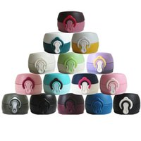 Wholesale cup materials for sale - Fashion Vacuum Cup Lid Hand Cup Parts Silicone Lock Ring Hijab PP Plastics Material Bounce Lock Strong Sealing Convenient Practical zz Y