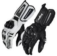 motorrad-rennhandschuhe großhandel-Hohe Qualität Furygan AFS10 Motorrad Reithandschuhe Moto Racing Road Handschuhe Leder Motorrad Schutz Radfahren