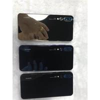 acessórios para telefone xiaomi venda por atacado-Store Início Telemóveis Acessórios Melhor A66 Barato Xiaomi Mi4 Branco Novo chegou Curvo tela P20 Pro 3 câmeras Android8 P20pro 1GB / 4GB