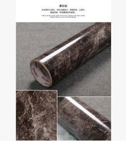 Wholesale Marble Wall Paper - Thick marble renovation sticker pvc self-adhesive wallpaper wallpaper wall stickers waterproof cabinets countertops -278