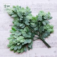 vides de arboles al por mayor-Creativo como simulación real Tree Leaf Garland Faux Vine Ivy Indoor Outdoor Home Decor Wedding Fake Plantas artificiales verde 2 1bc jj