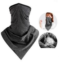 Wholesale black magic towels for sale - Group buy Summer Outdoor Riding Face Masks Men And Women Sunscreen Magic Ice Scarf Bicycle Equipment Trigonometric Towel xq Ww