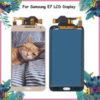 e7 display venda por atacado-5.5 '' superameric display para samsung galaxy e7 lcd display touch digitador assembléia peças de reposição para samsung galaxy e7 lcd