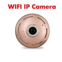 ip-kamera 1.3 großhandel-SMTKEY 128G fischauge tf karte bis max 185 grad unterstützung 1,3 Megapixel wifi ip-kamera