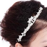 блестящая свадебная тиара оптовых-Fashion Bride Sparkly Crystal Rhinestone Crown Hairband Hair Band, Shinning Crown Tiara Wedding Prom Bridal Headband