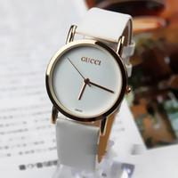 Wholesale Clock Girl - New Italy watches Girls leather strip women watches Fashion Luxury Brand Quartz Watch Clock Relogio Feminino Montre Femme Wristwatches