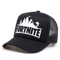 Fashion Snapback Fortnite Printing Baseball Caps Fitted For Man And Women  Adjustable Net 3D Sun Summer Hat Hot Sale 9 9kb WW 5874ab9b934a